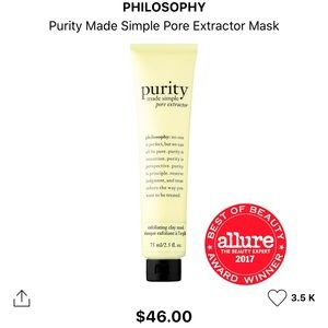 Philosophy purity made simple pore extractor